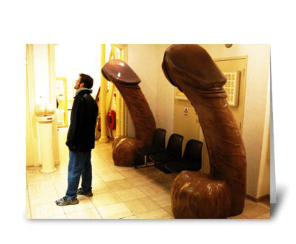 Amsterdam Sex Museum greeting card