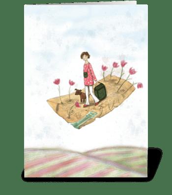 good journey greeting card