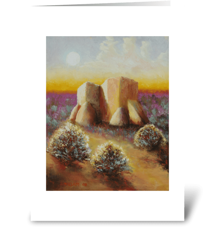 Mission Imagined greeting card