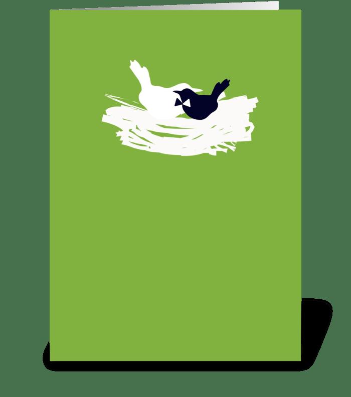 Wedding Birds greeting card