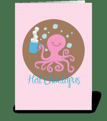 Choccie greeting card